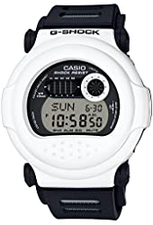 CASIO Men's Watch G-SHOCK White and Black Series G-001BW-7JF