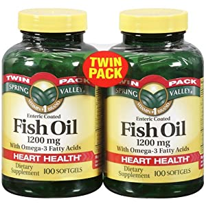 Spring valley fish oil 1200 mg strength for Spring valley fish oil 1200 mg