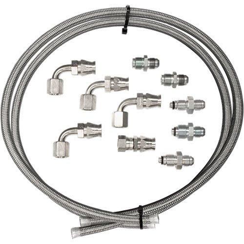 Billet Specialties 77905 Power Steering Hose Kit (Power Steering Pump Hose Adapter compare prices)