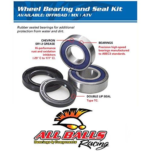 REAR WHEEL BEARING KIT HONDA CR60 CR80 CRF70 CRF80 CRF100 XR70 XR80 XR100 REFLEX (Reflex Bearings compare prices)