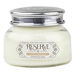 White Tangerine Aspen Bay Reserve Collection 19 Ounce Signature Scented Jar Candle