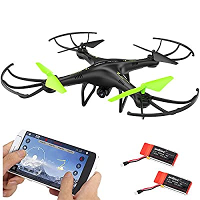 Cheerwing Petrel U42W Wifi FPV Drone 2.4Ghz RC Quadcopter with HD Camera, Flight Route Mode and Altitude Hold, One Key Take Off / Landing from UDIRC