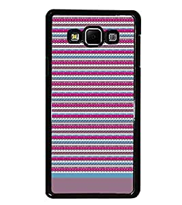 PrintDhaba Tribal pattern D-1933 Back Case Cover for SAMSUNG GALAXY A8 (Multi-Coloured)