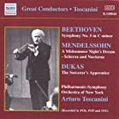 Great Conductors : Beethoven Mendelssohn, Dukas