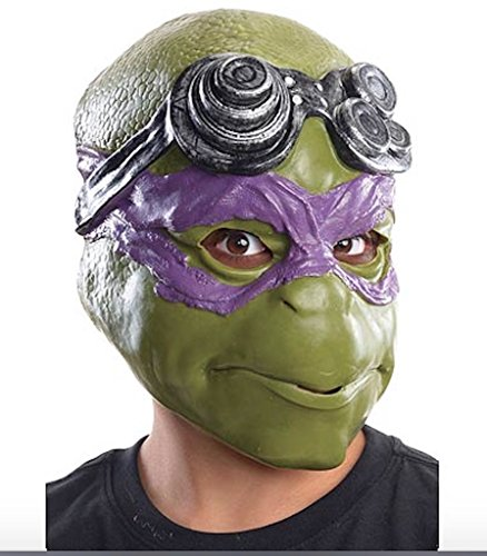2014 Teenage Mutant Ninja Turtles Movie Donatello Adult Mask Free Shipping