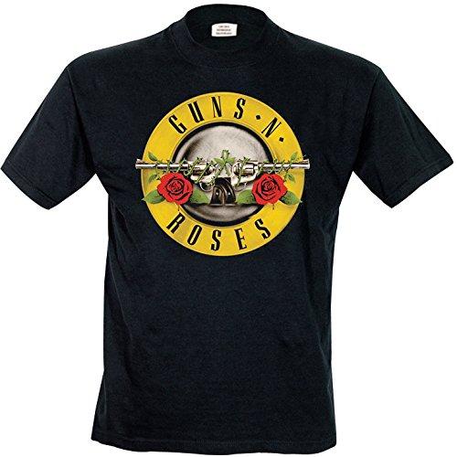 Unbekannt - T-shirt da uomo, Nero (Schwarz (Schwarz)), XX-Large