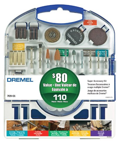 Dremel 70901 110 pc Super Accessory Kit Picture