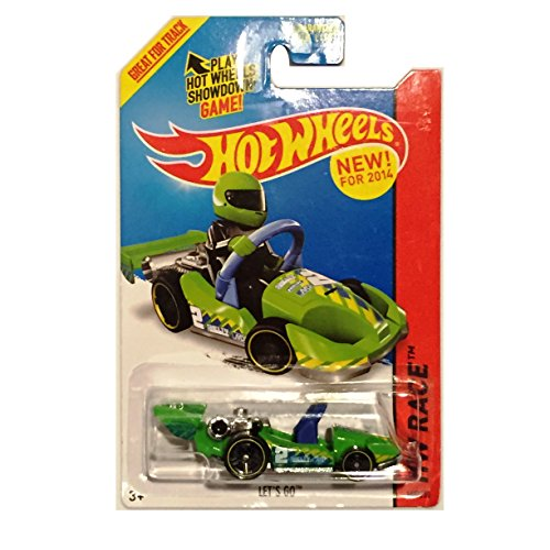 2014 Hot Wheels Hw Race - Let's Go (Green)