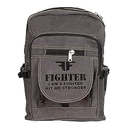 Greentree Canvas Backpack Multi Purpose Bag Unisex College Shoulder Bag MBG63
