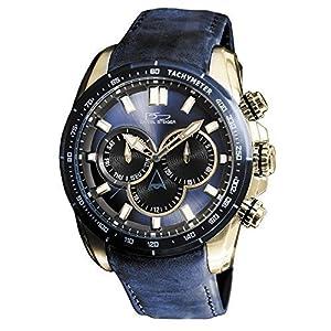 Amazon.com: Daniel Steiger Graphite Blue Watch: Daniel Steiger