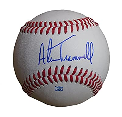 Alan Trammell Autographed / Signed ROLB Baseball w/ Proof Photo, Detroit Tigers, Arizona Diamondbacks, San Diego Padres