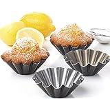 SET OF 4 UNITS Muffin Brioche mold Brownies pie cupckake egg tart pans