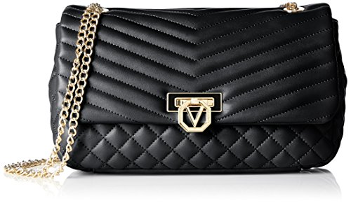 Valentino-Damen-Margaritas-Baguettes-Schwarz-Nero-26x15x6-cm