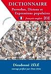 Dictionnaire - Proverbes, dictons et...