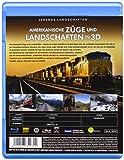 Image de Amerikanische Züge und Landschaften in 3d [Blu-ray] [Import allemand]