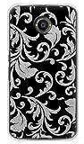 携帯電話taro Y!mobile Nexus 6 ケース カバー (ツルクサ 銀箔) Google Nexus6-TAR-1747 の中古画像