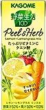 Amazon.co.jpカゴメ 野菜生活100 Peel&Herb レモン・レモングラスミックス 200ml×24本