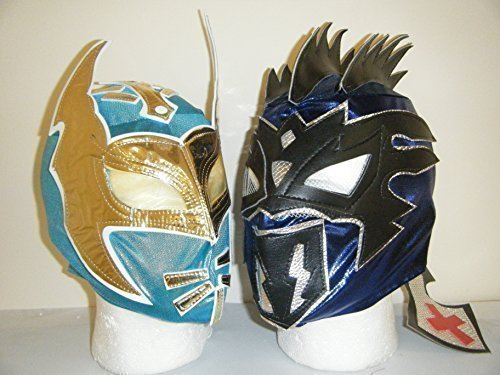 THE LUCHA DRAGONS ! KALISTO & SIN CARA CHILDRENS MASKS