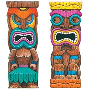 Click to buy Tiki Island Idol 65in Scene Setter Add-Ons 2ct from Amazon!