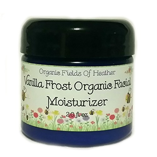 Organic Facial Moisturizer - 100% All Natural Non-Gmo Face Cream - Light & Natural Vanilla Cocoa Butter Scent - 100% Certified Organic Ingredients - Anti-Aging - For Women Or Men - Will Not Dry Out Your Skin Or Leave A Long Lasting Oily Residue. Will Heal front-449005