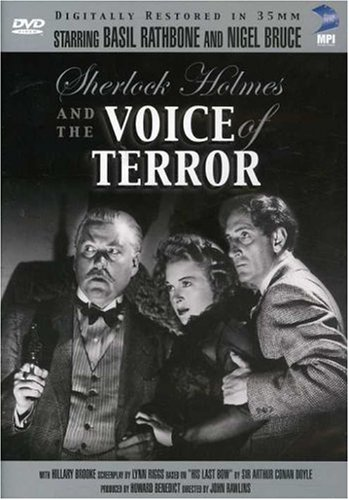 Sherlock Holmes: The Voice of Terror Cover