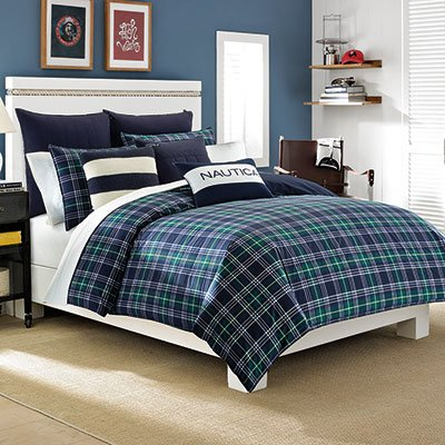 Nautica Trescott Comforter Set, Twin/Twin X-Large back-1031708