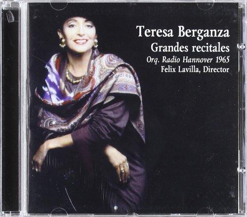 Grandes Recitales - Teresa Berganza - CD