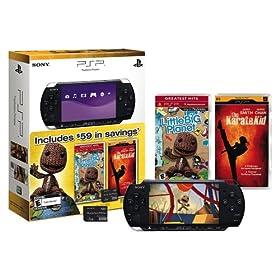 Black Friday - PSP-3000, Little Big Planet, Karate Kid, 1GB memory stick