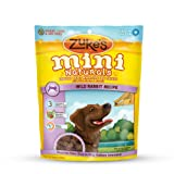 Zukes Mini Naturals Wild Rabbit Formula Dog Treats, 6 Ounce