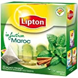 Lipton Infusion Maroc Menthe Epices 20 sachets - Lot de 3