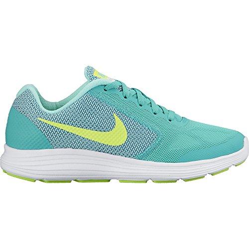 Nike Revolution 3 (GS), Zapatillas de Running Para Mujer, Verde...