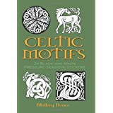 Celtic Motifs: 24 Black-and-White Pressure-Sensitive Stickers (Dover Instant Art Stickers S.)by Mallory Pearce