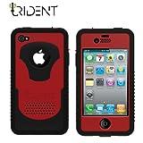日本初上陸! 高耐衝撃性+防塵機能 Trident Case Cyclops for iPhone4 Red トライデントケース サイクロプス レッド SoftBank ソフトバンク iPhone 4 ケース