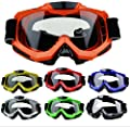 D&S Ski,Snow Goggles - Recoil Windproof Wide Spherical UV400 Eyewear with Anti-fog Clear Lens- also for Winter Skate Snowboard Snowmobile Motorcycle Sports - for Adults Youth Women and Men