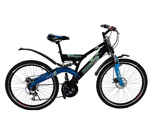 26' Zoll Mountainbike - Phantom One - MTB vollgefedert Fully, Farben:blau