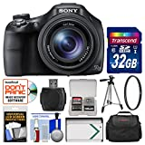 Sony Cyber-Shot DSC-HX400V Wi-Fi Digital Camera with 32GB Card + Case + Battery + Tripod + Filter + Kit