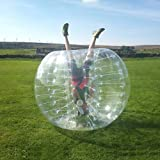 HolleywebTM Bubble Soccer Ball Dia 5' (1.5m) Human Inflatable Bumper Bubble Balls