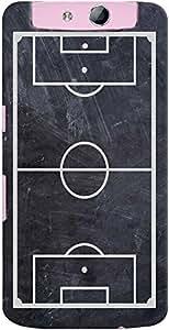 Kasemantra Soccer On Slate Case For OPPO N1