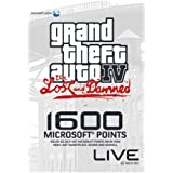 "Xbox 360 - Xbox Live Microsoft Points Card - 1600 Punkte - GTA IV Limited Editionvon ""Microsoft"""