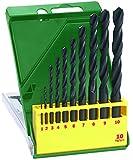 Bosch 10-teiliges HSS-R-Metallbohrer-Set, Ø 1-10 mm, 2607019442
