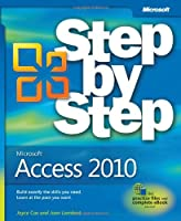 Microsoft Access 2010 Step by Step Front Cover