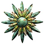 Regal Art & Gift 10200 Sunburst Sun Wall Decor, Aqua