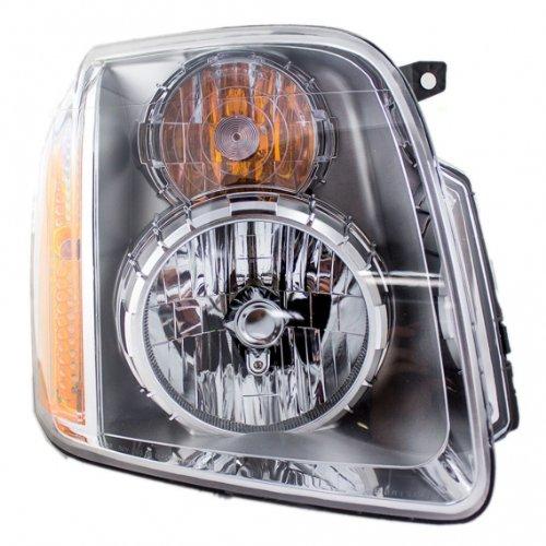 New 07 08 09 Gmc Yukon Denali Xl Headlight Headlamp Composite Halogen Front Head Light Lamp Right Passenger Side