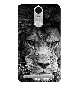 FEROCIOUS LION Designer Back Case Cover for Lenovo K5 Note