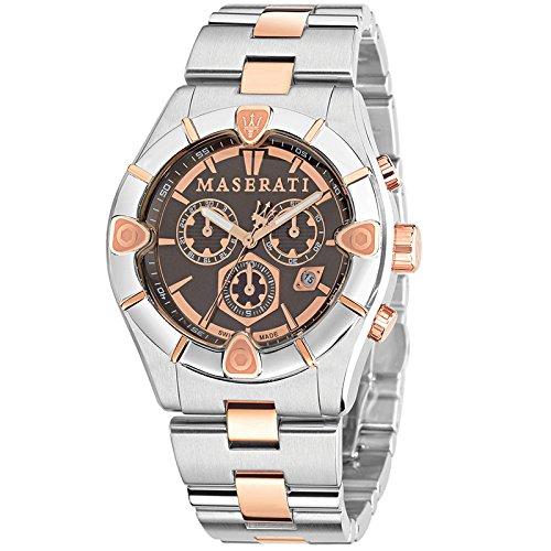 Reloj Maserati 45mm multifuncion acero