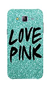Back Cover for Samsung Galaxy A7 Love Pink