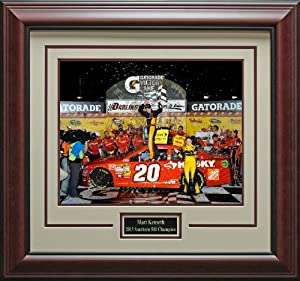 Matt Kenseth 2013 Southern 500 Champion photo matted and framed by Signature Royale