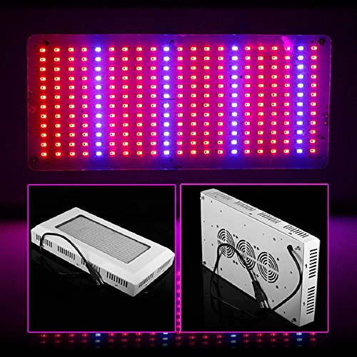 Lvjing® High Power 300W Led Plant Grow Light Panel 252 Led Red + Blue For Hydroponic Plants Flowers Vegetables Greenhouse Hydroponic Lighting (300W)