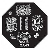 First Class Nail Art Stickers Manicure New in Market Template QA Series Styles Code QA43