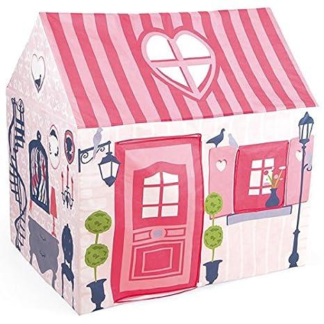 Janod - J03257 - Maison De Poupée - Maison Mademoiselle En Tissu